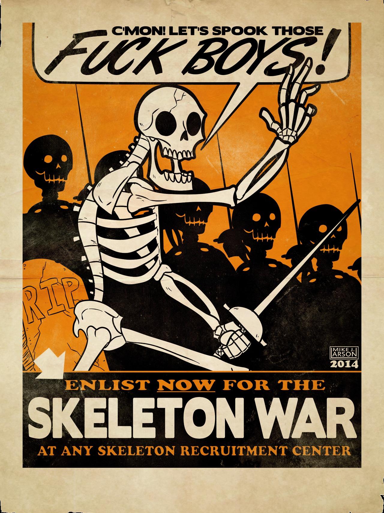 Updoot to enlist in skeltal war now : ledootgeneration