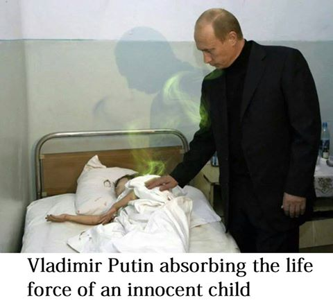 PUTIN DOESN'T WANT YOU TO SEE THIS VERY ILLEGAL MEME ...