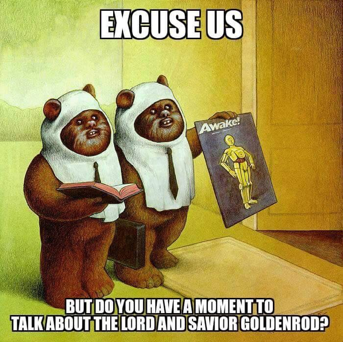 996 yub nub excuse me sir, do you have a moment to talk about jesus