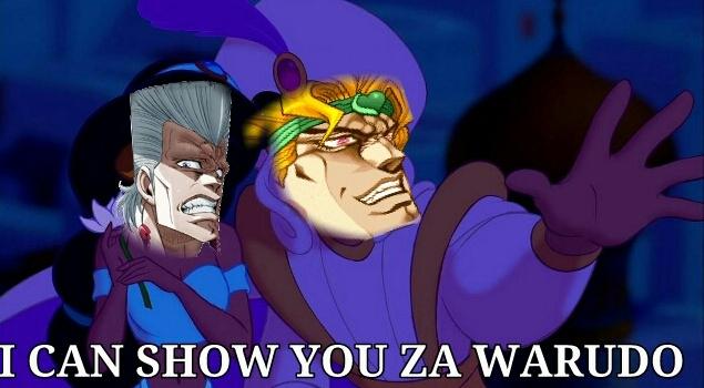1c6 a whole new warudo jojo's bizarre adventure know your meme