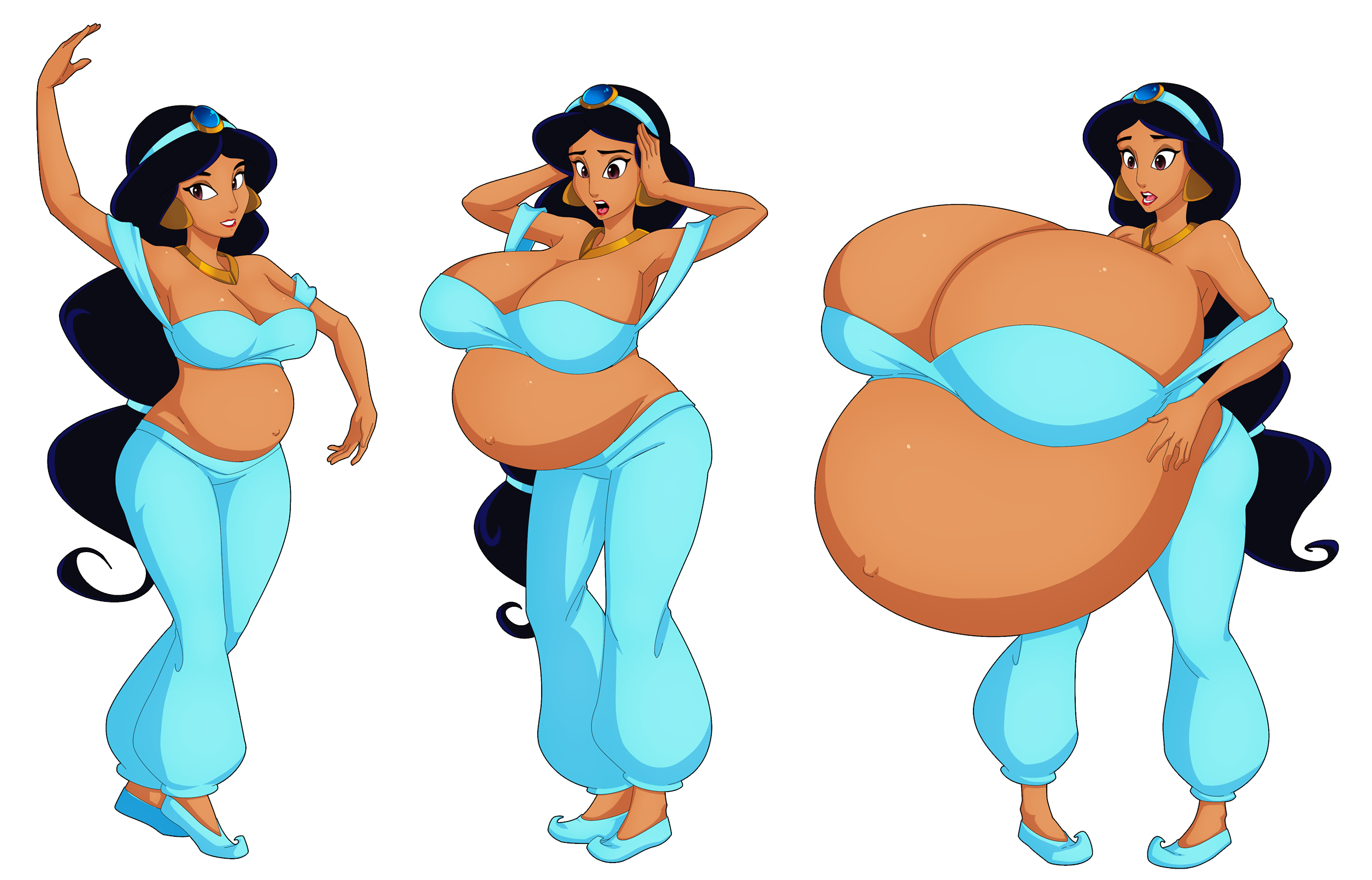Disneys jasmines boob