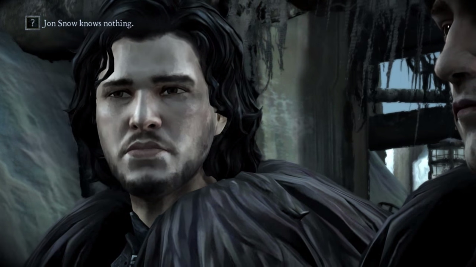 2 Jon Snow Knows Nothing George R Martin The Wolf Among Us Tales From