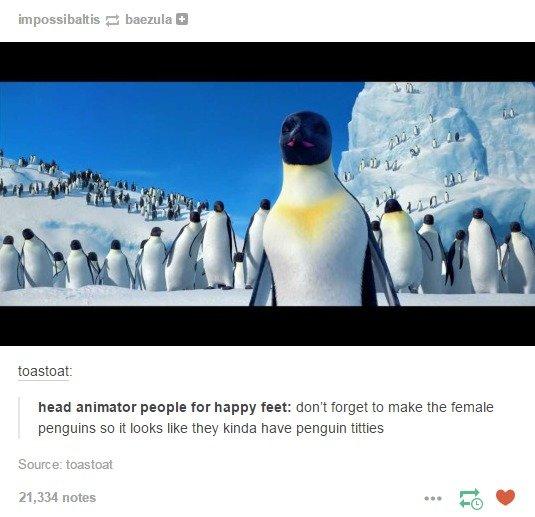 a0b penguin boobs penguins know your meme