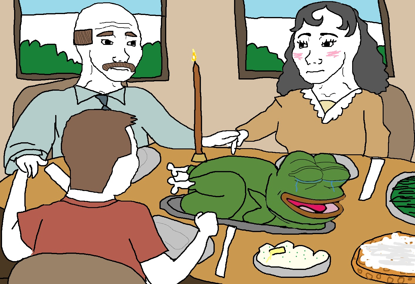 1ca feelsgiving with pepe the frog pepe the frog know your meme,Know Your Meme Pepe