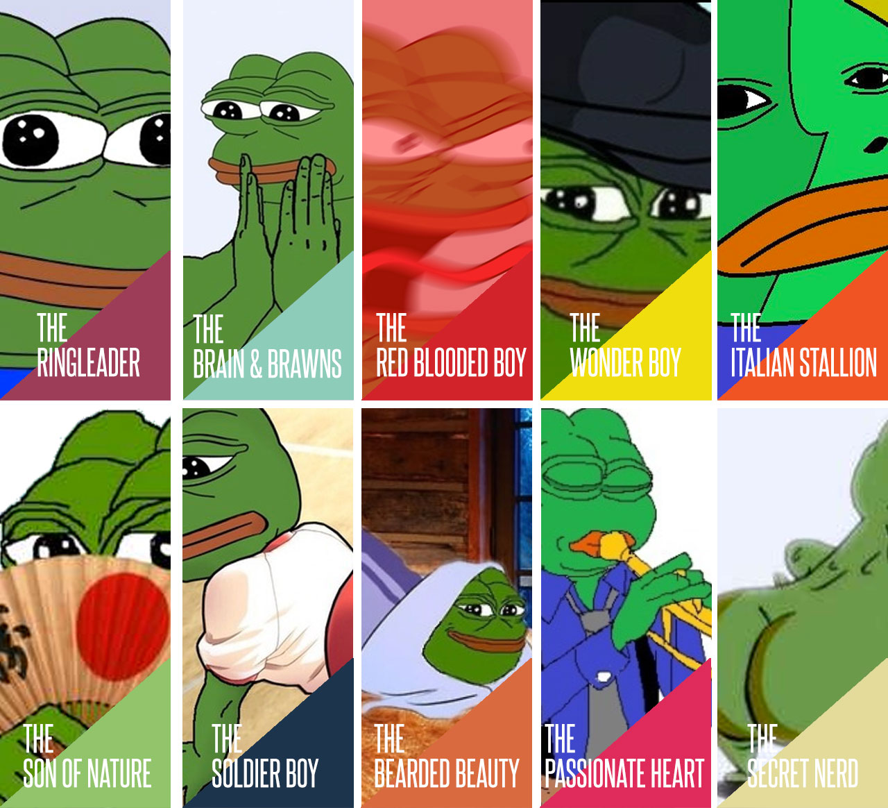 bd3 different types of pepe pepe the frog know your meme
