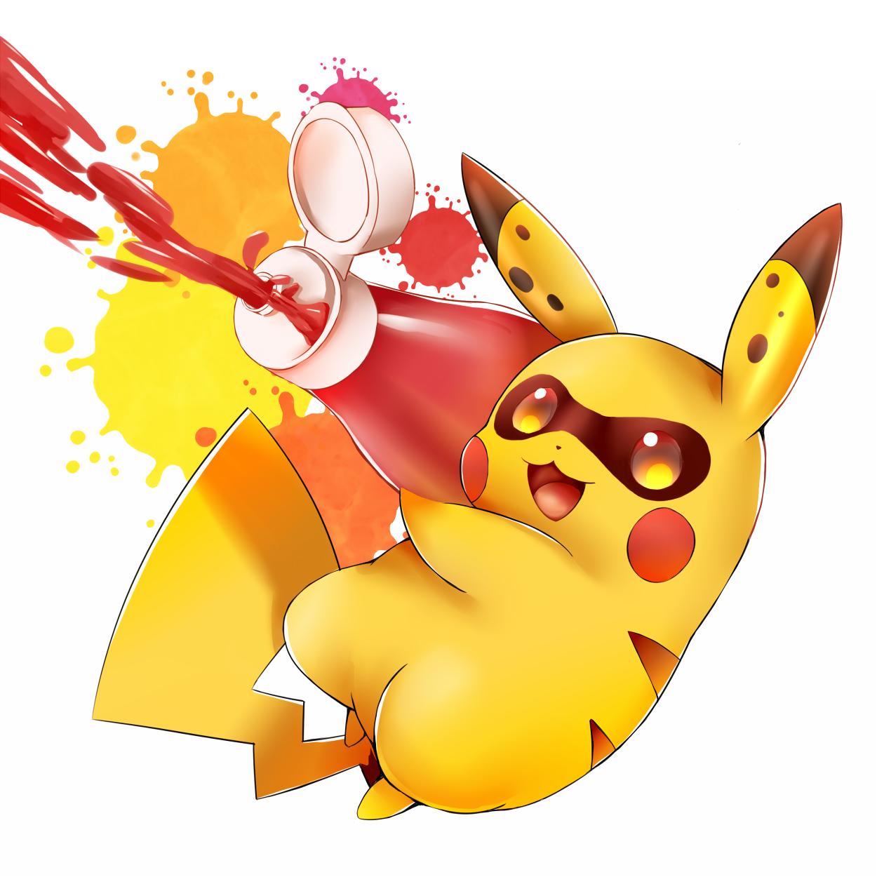 Pikachu inkling splatoon know your meme - Pikachu kawaii ...