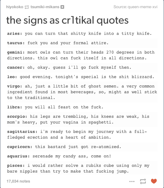 Signs Quotes Enchanting Cr1Tikal  The Signs As Know Your Meme