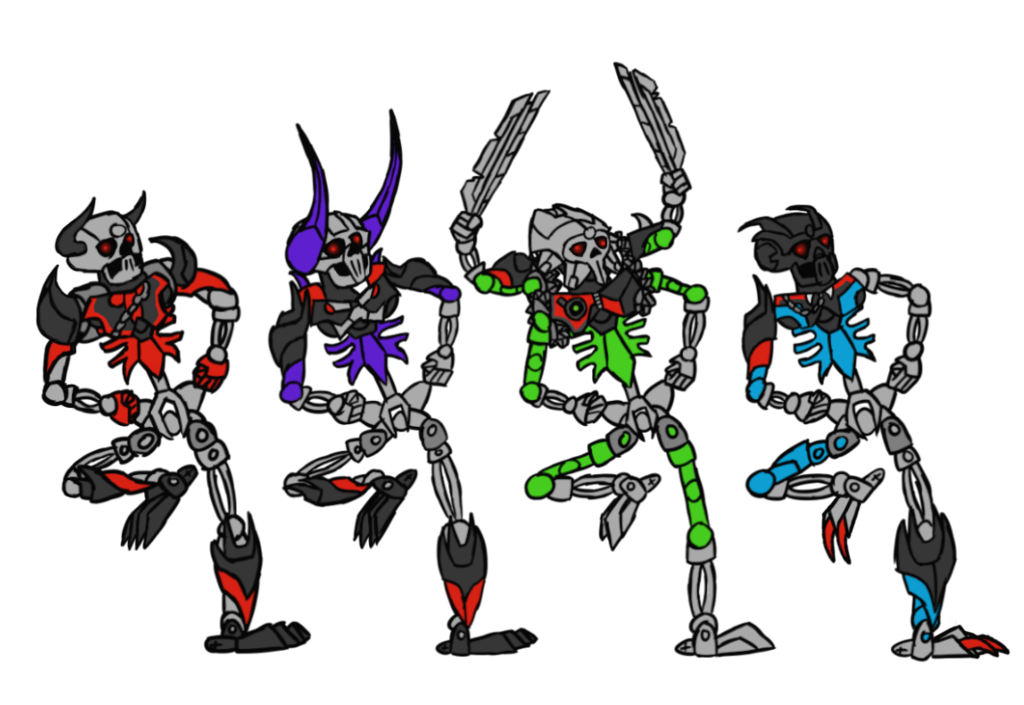 837 spooky scary bonkle skeletons bionicle know your meme