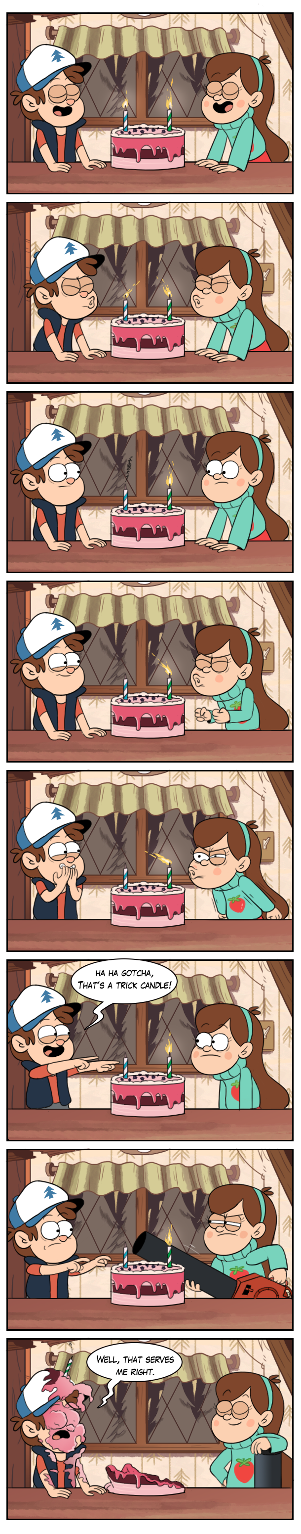 Birthday cake Gravity Falls Know Your Meme