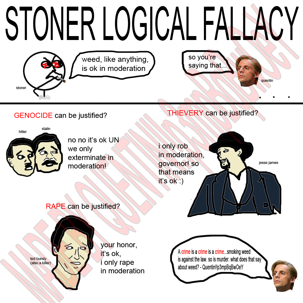 stoner logic calle borjesson quentin know your meme