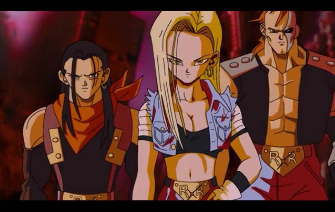 dragon ball z trunks vs 17 and 18 dating