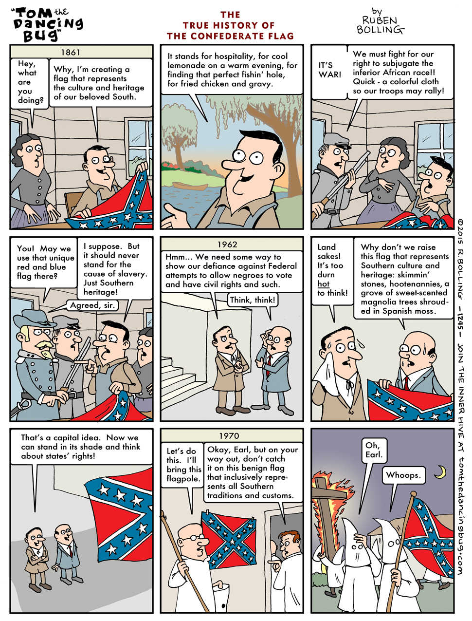 The true history of the confederate flag the confederate flag the true history of the confederate flag ruben dancing bug bolling 1861 we must fight for biocorpaavc