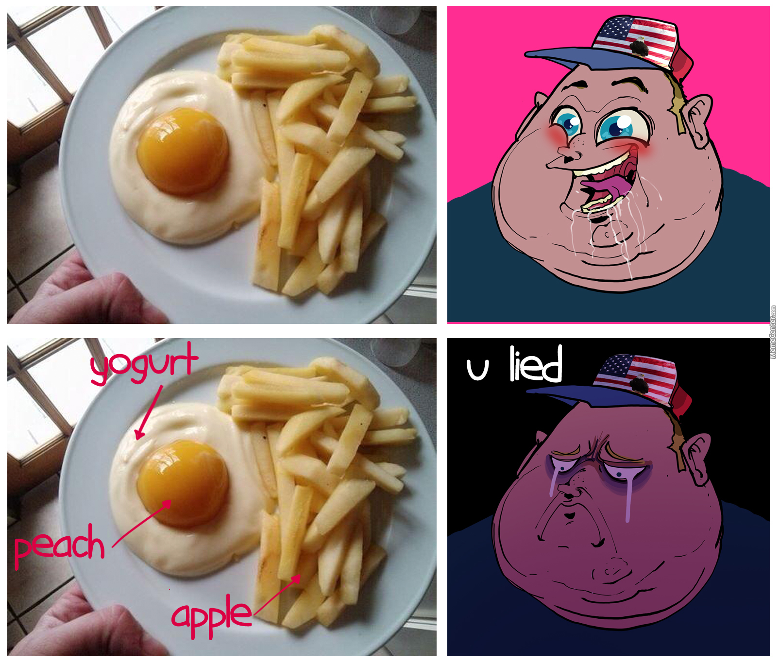 d5f typical 'murica breakfast or is it? 'murica know your meme