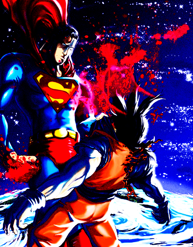 Who Would Win In A Fight Goku Or Superman