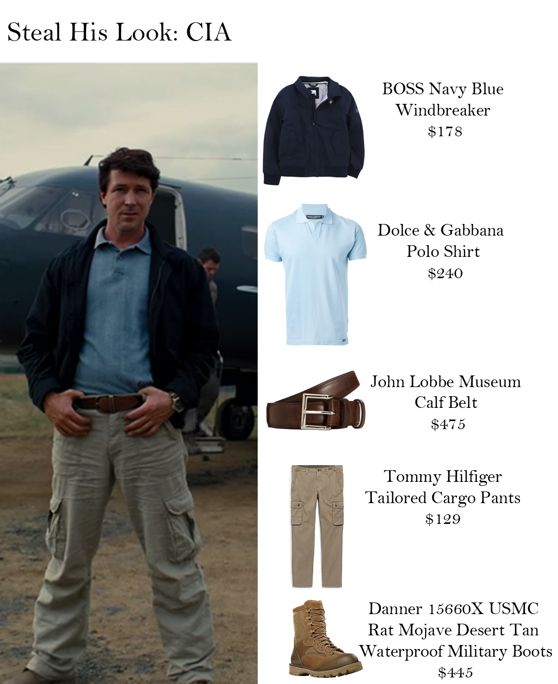 Steal His Looks: CIA | Steal Her Look