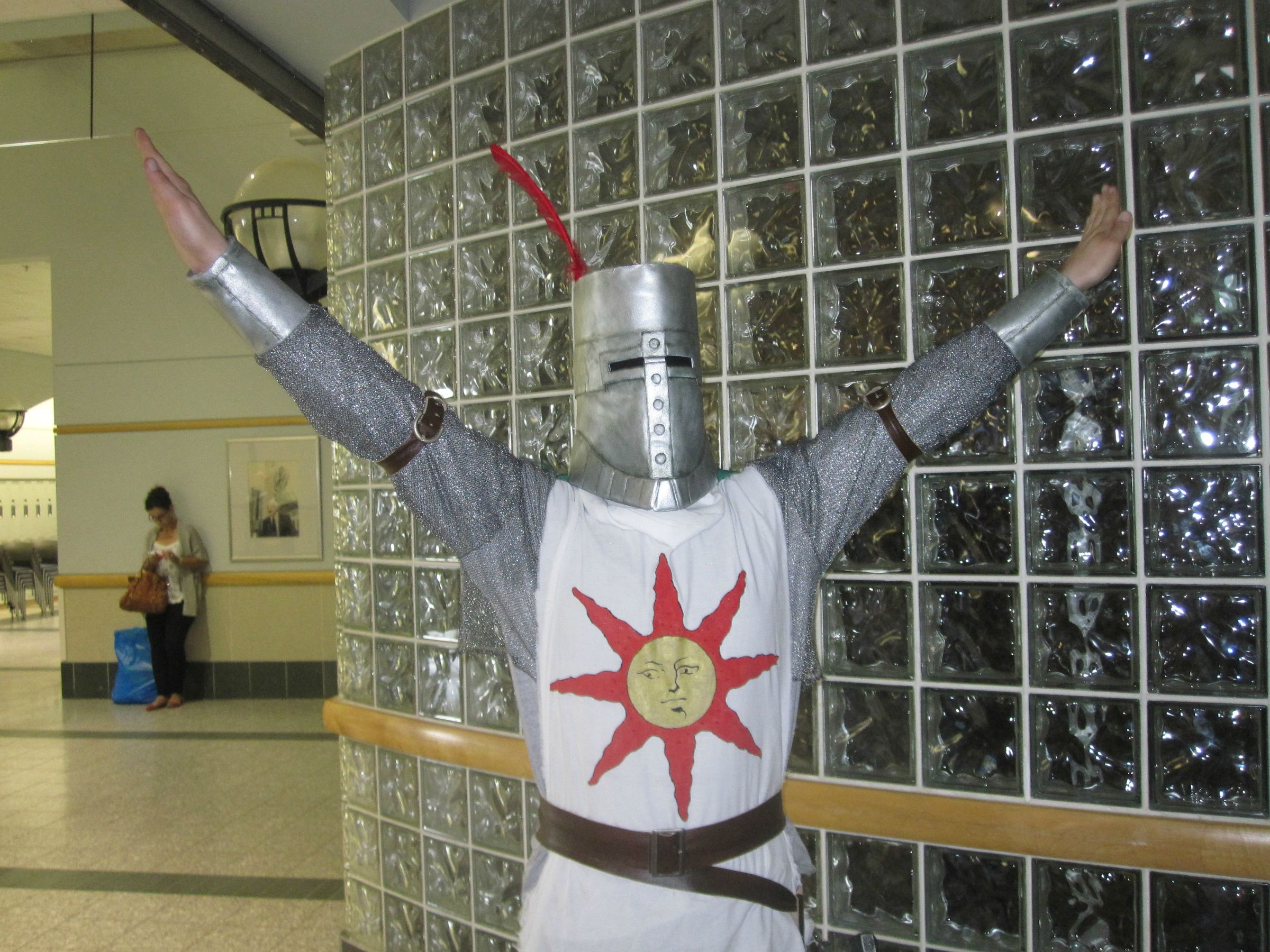 Solaire of astora cosplay