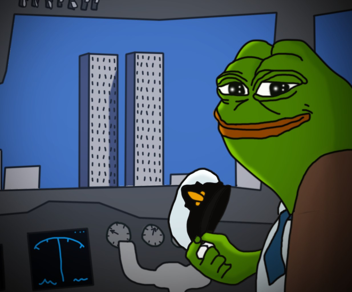 ca8 jet fuel can't melt steel memes pepe the frog know your meme