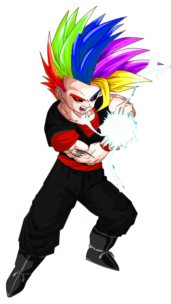 Supersaiyan 2 teen gohan oc super saiyan levels know - Son gohan super saiyan 4 ...