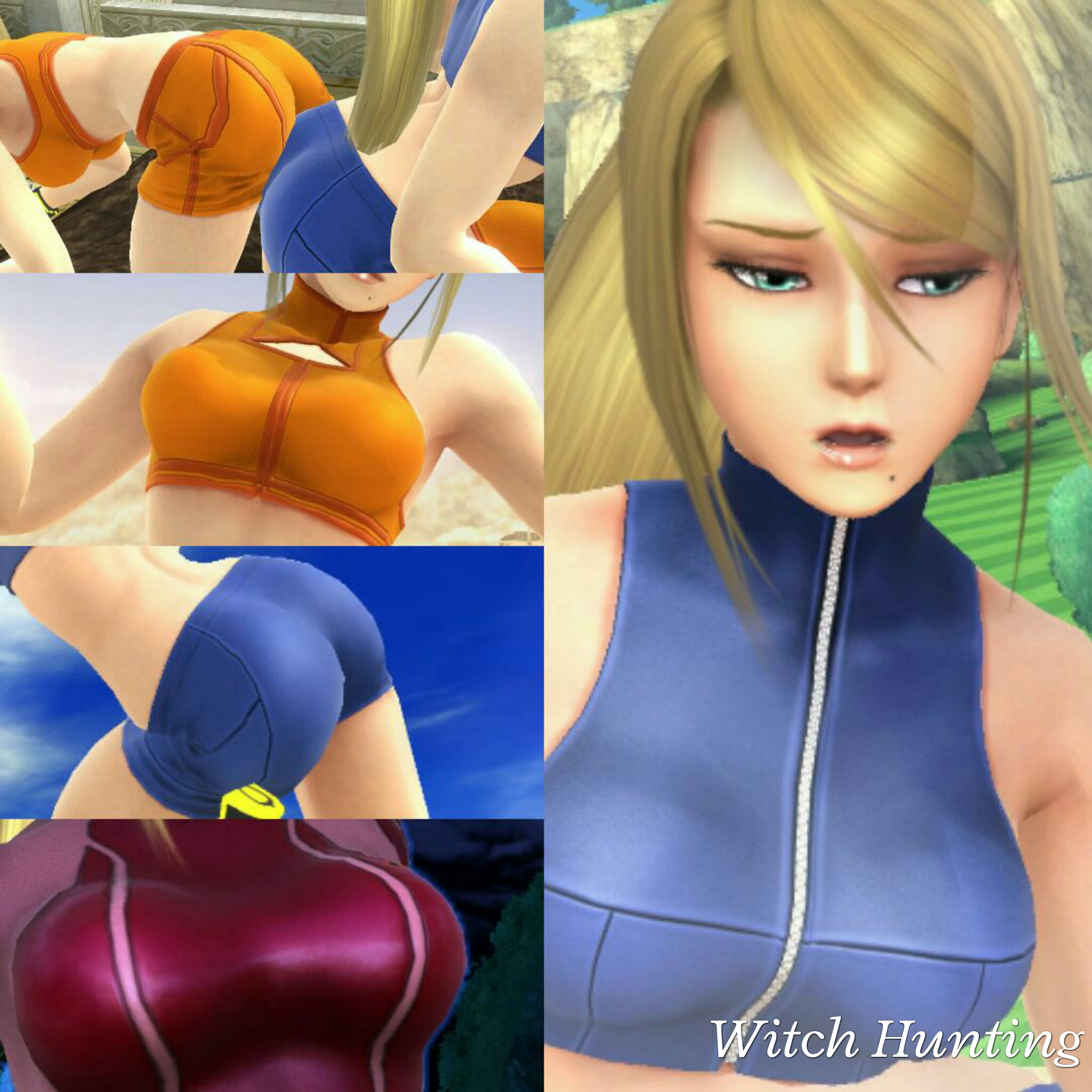 Zero suit samus gets sex