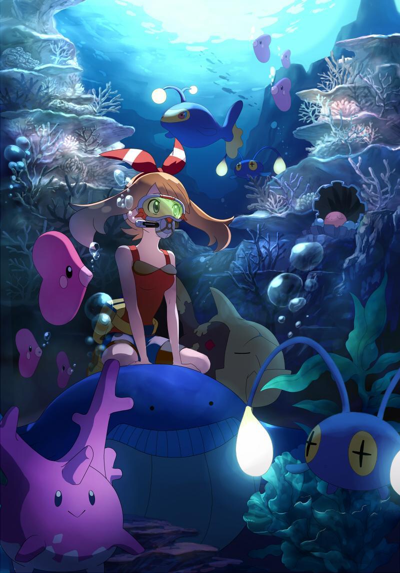 underwater | pokémon | know your meme
