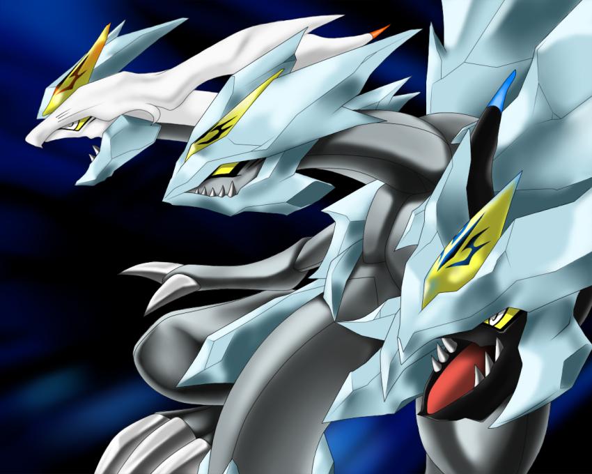 Kyurem-blue-eyes ultimate dragon | Pokémon | Know Your Meme