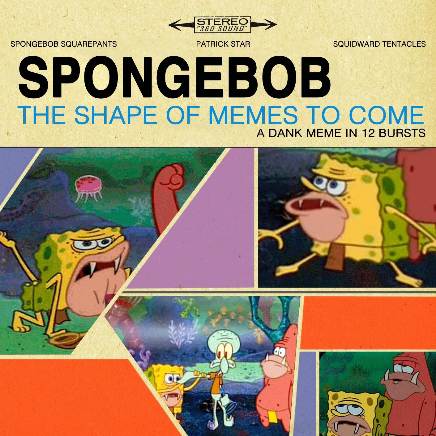 Funny Spongebob Caveman Meme : The shape of memes yet to come spongegar primitive