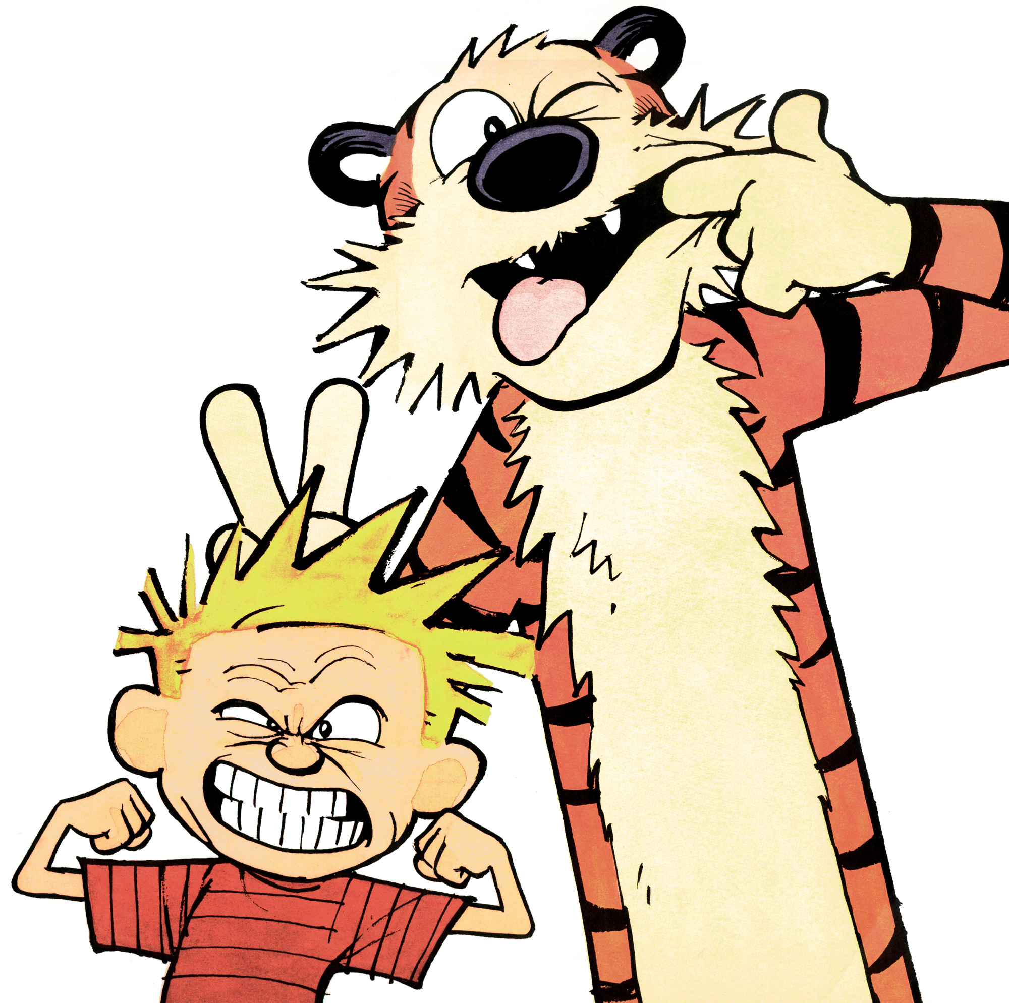 portrait calvin and hobbes know your meme rh knowyourmeme com calvin and hobbes clip art free clipart calvin hobbes