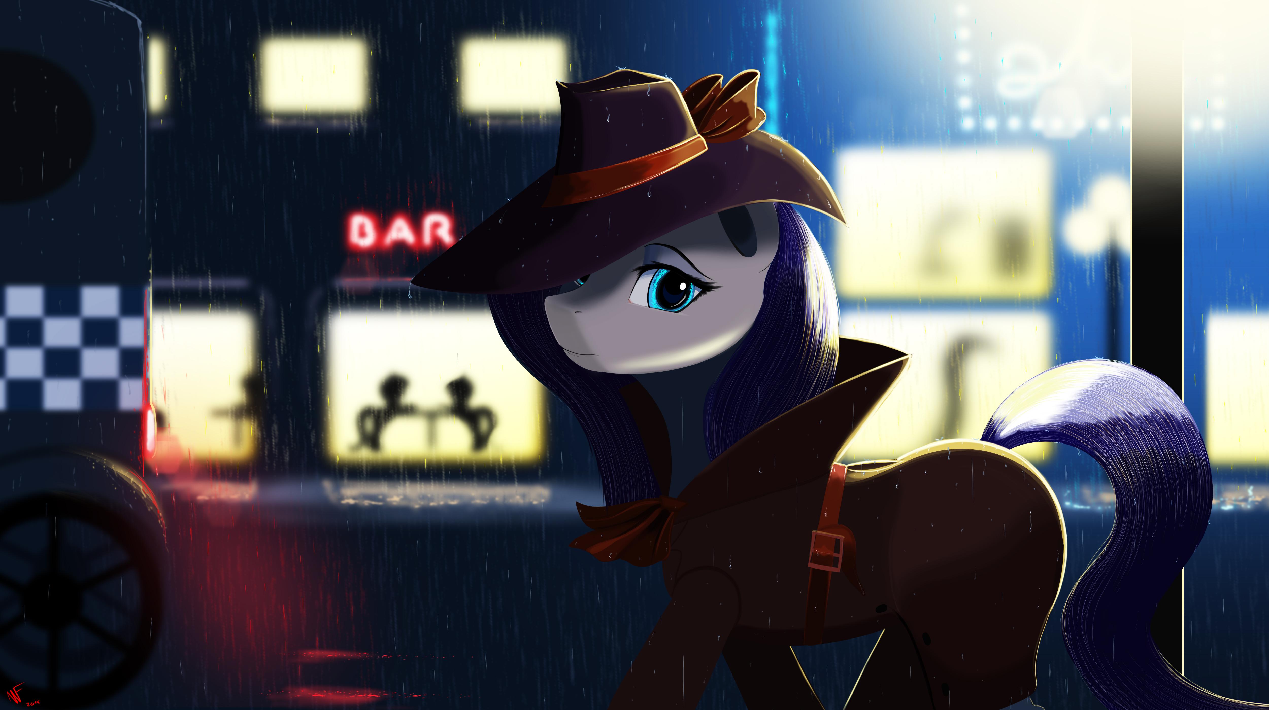 mlp detective rarity
