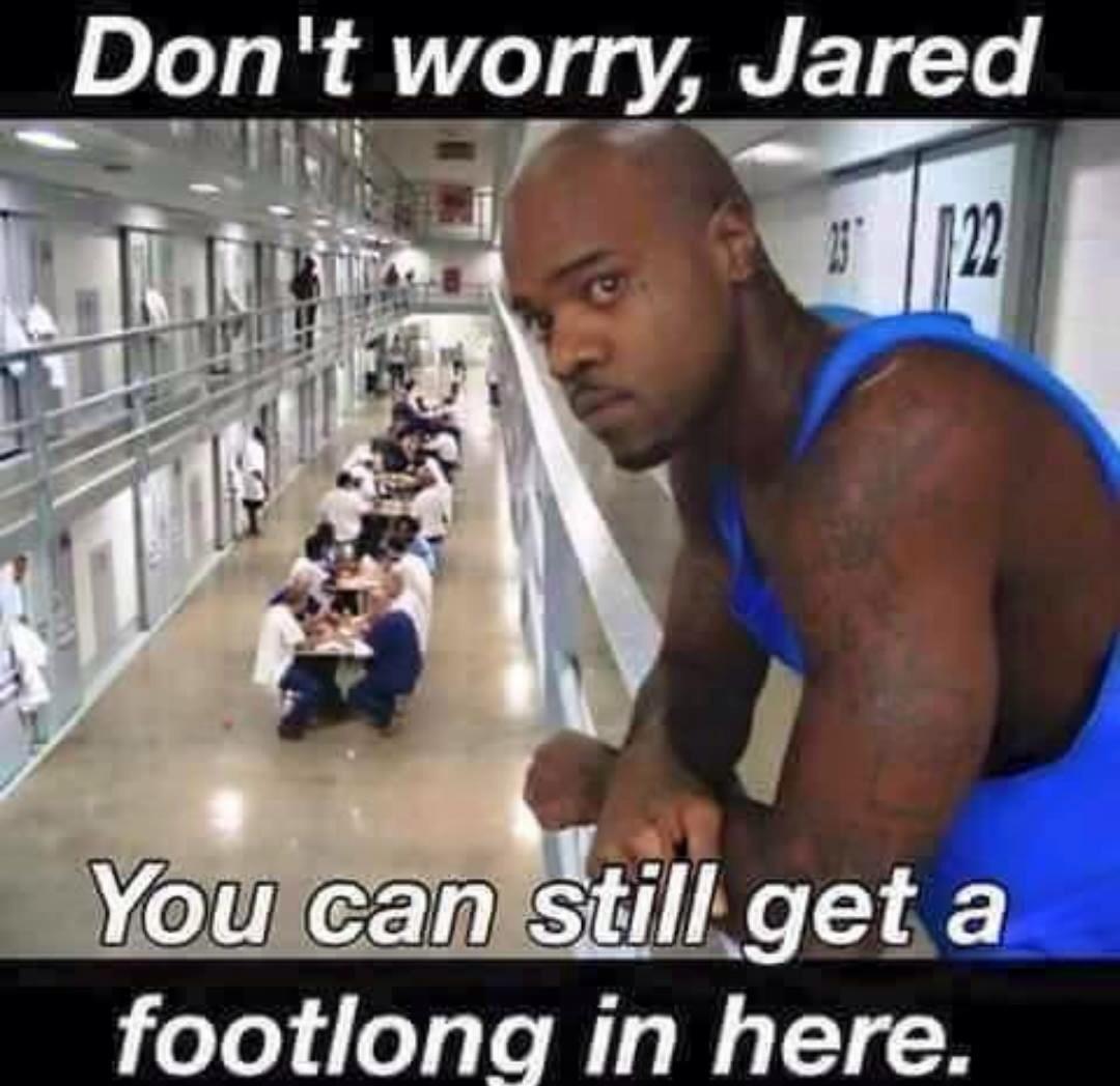 646 a footlong in jail for jared jared fogle child porn