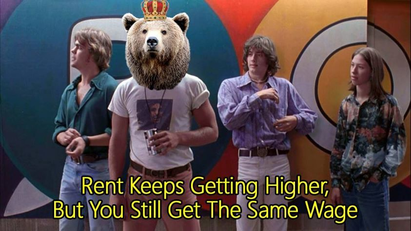 b8c dazed and confused landlord bear know your meme,Dazed And Confused Meme