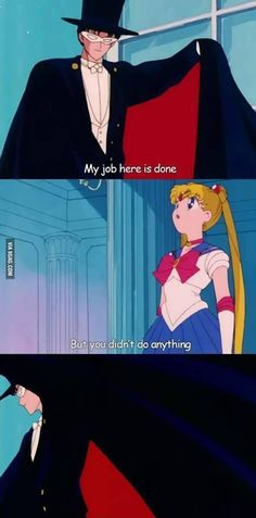 But You Didn't Do Anything   Sailor Moon   Know Your Meme