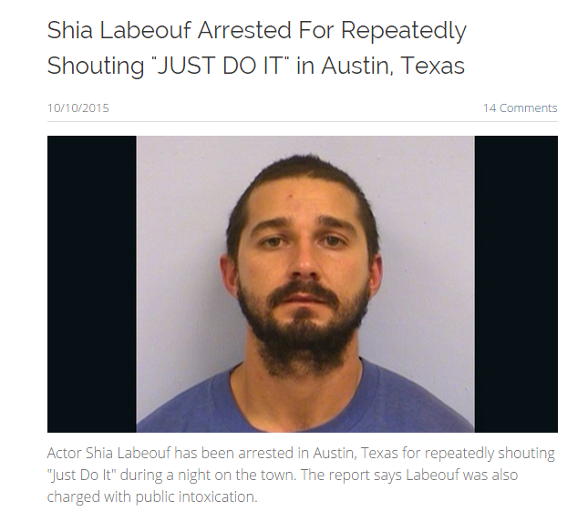 c30 shia labeouf arrested for repeatedly shouting \