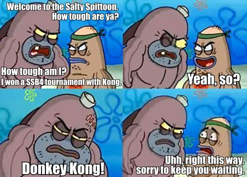 b5e damn, that very tough welcome to the salty spitoon how tough are