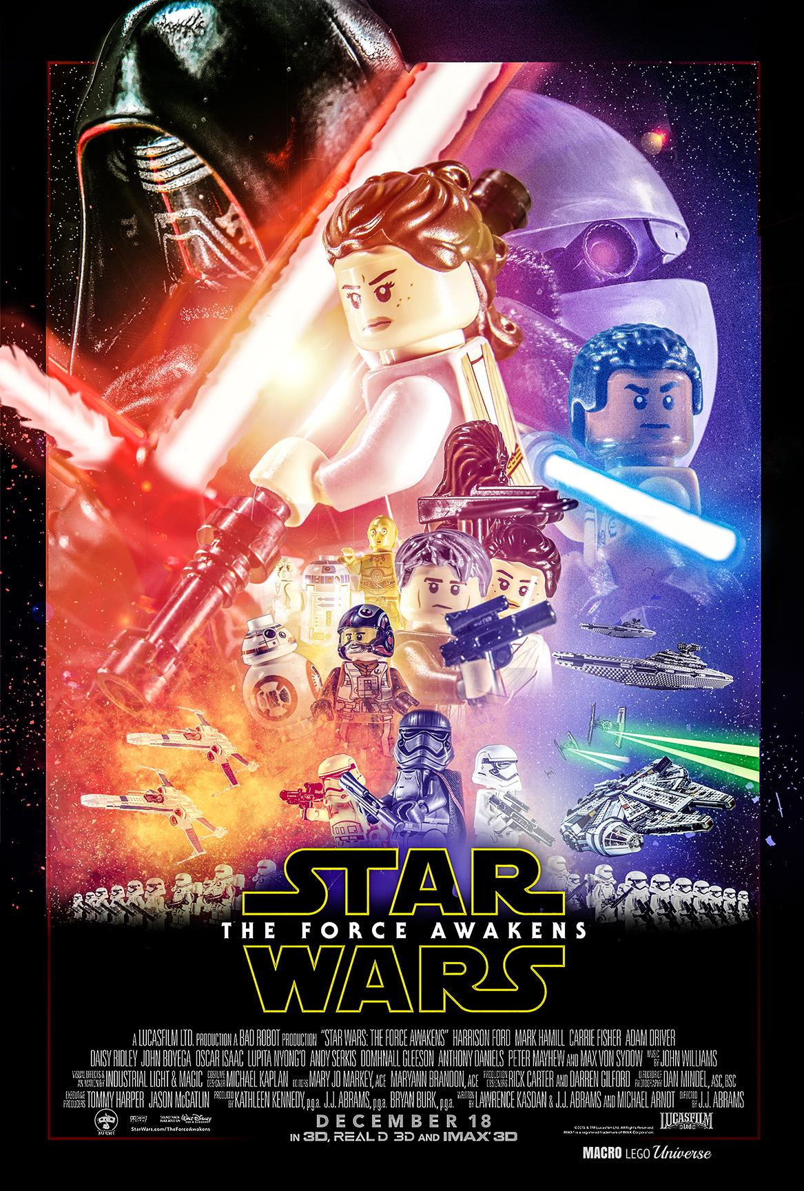 parodie star wars 7 lego