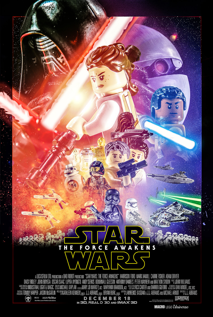 parodie star wars lego