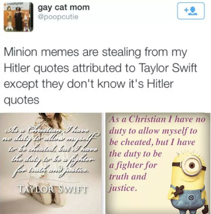 2d3 hitler quotes minions know your meme