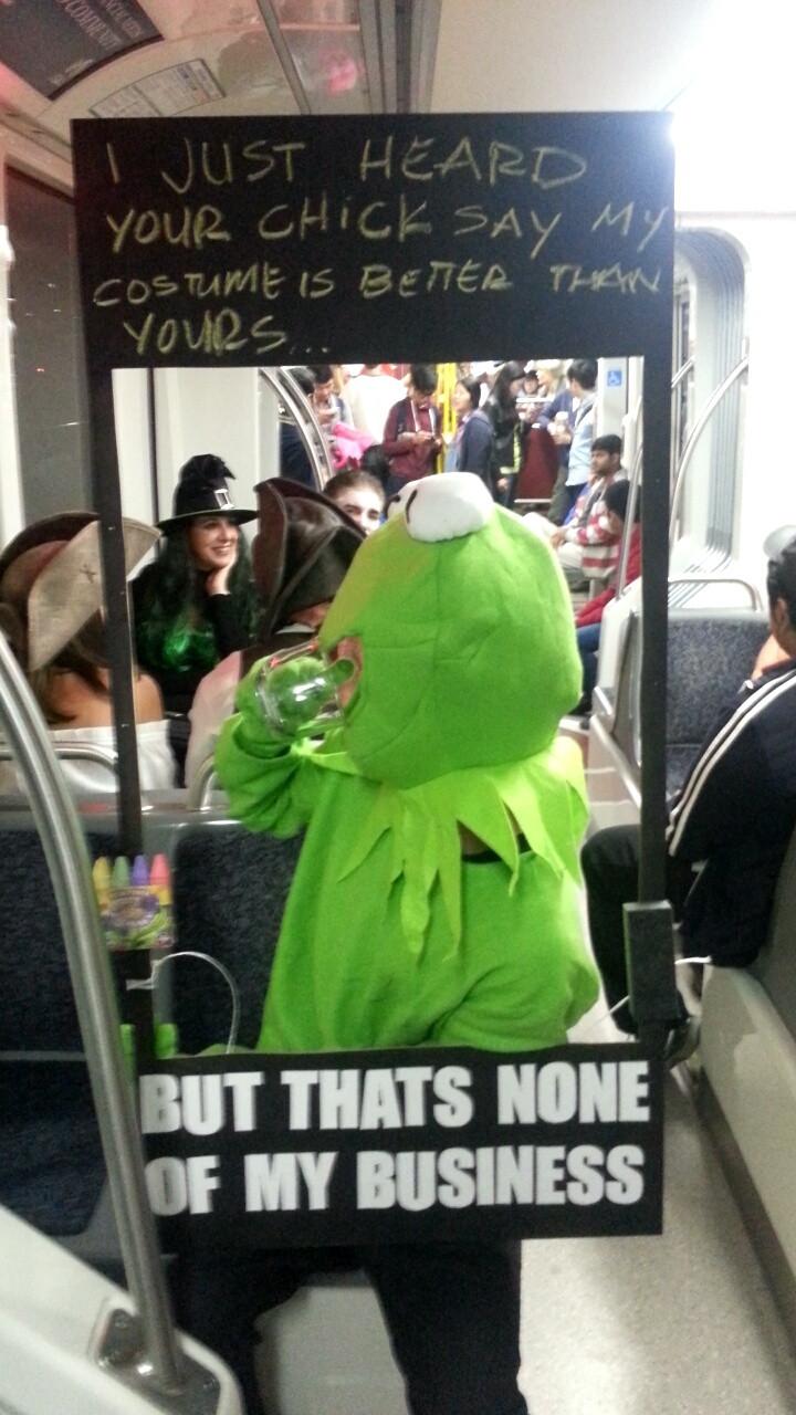 Kermit Costume | Halloween | Know Your Meme