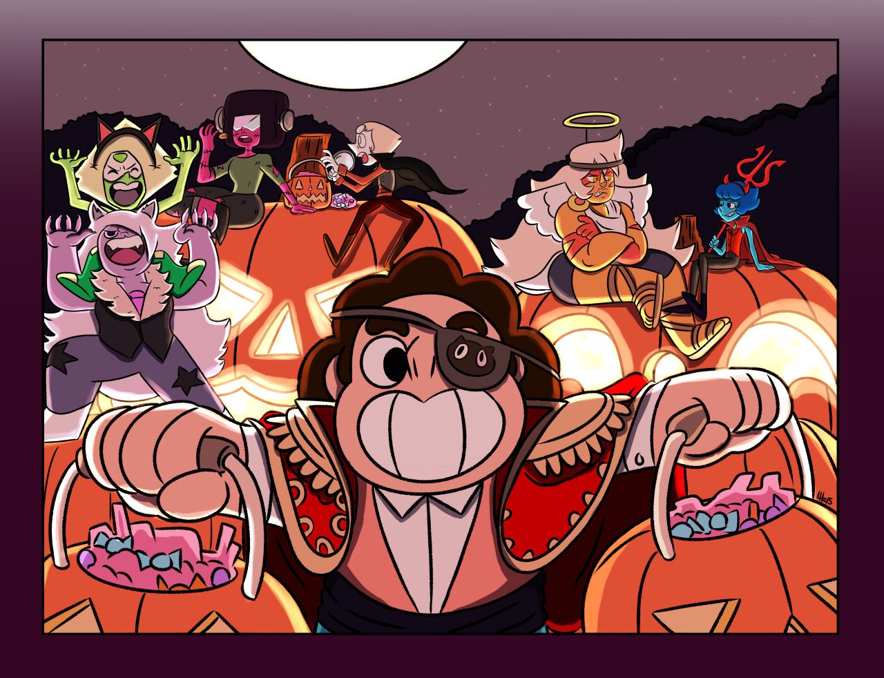 Happy Halloween! | Steven Universe | Know Your Meme