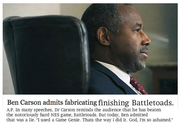 Articles on Ben Carson