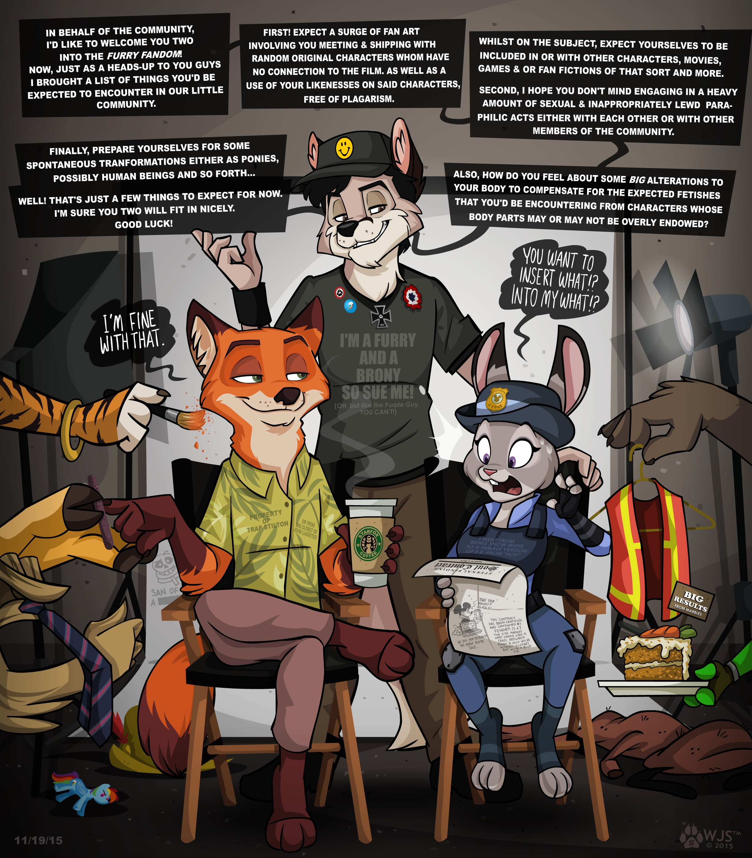 be prepared by wolfjedisamuel zootopia know your meme