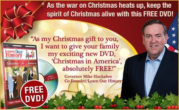 Mike Huckabee War on Christmas DVD | The War On Christmas | Know ...