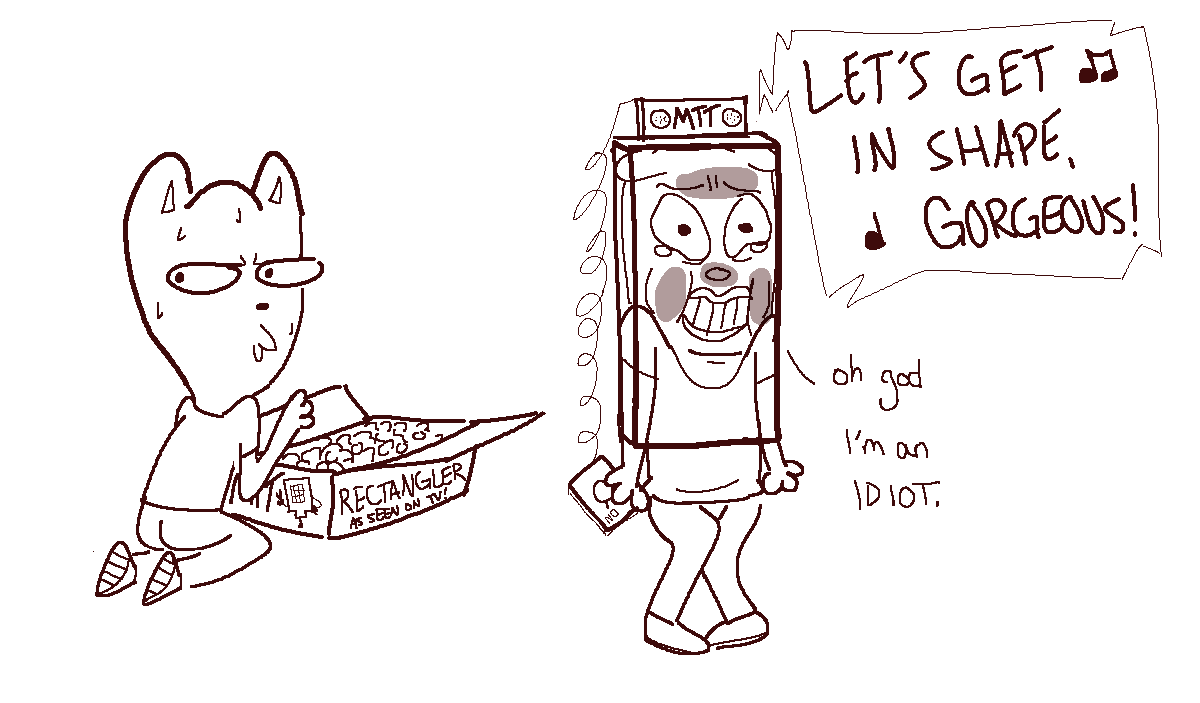 Burgerpants trying one of those kits to make yourself more omtt in shape sod m on diot rectangle solutioingenieria Gallery