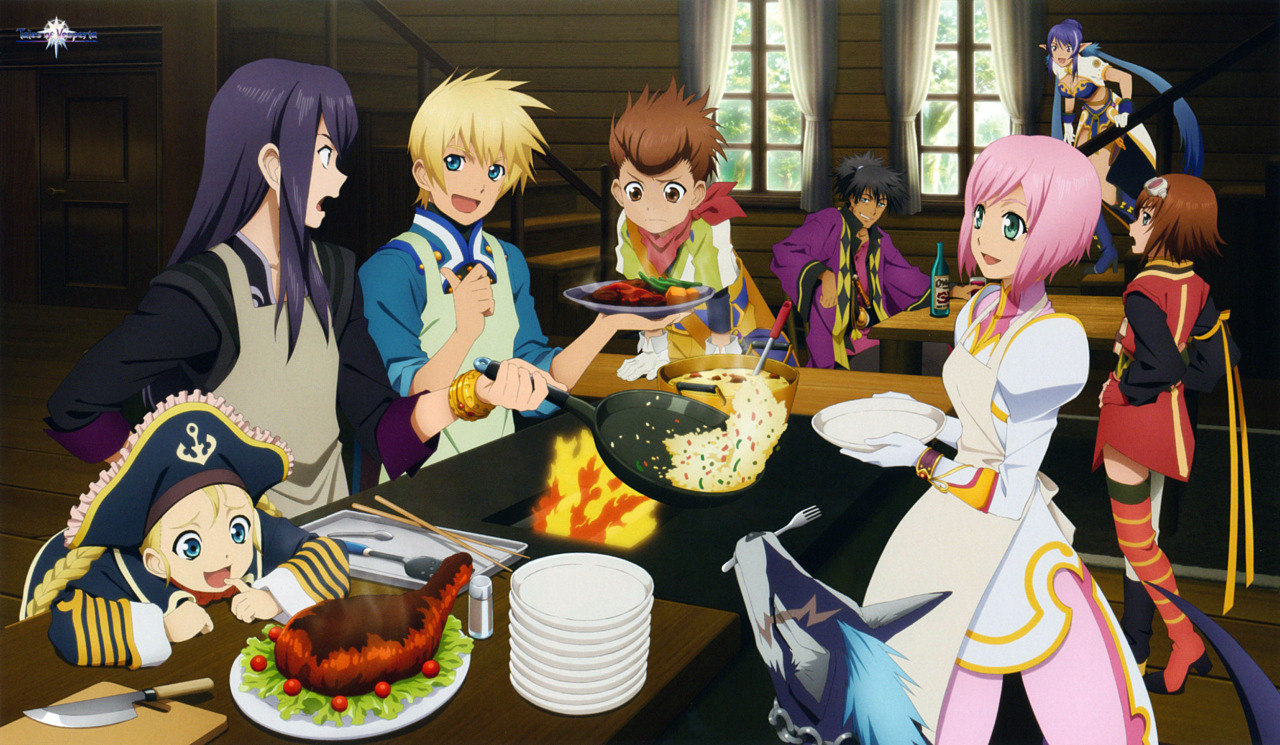 Cooking With Brave Vesperia