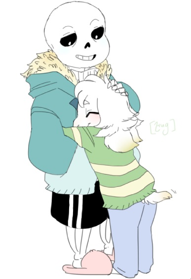 Chara x Sans, Frisk x Asriel - Glad You Came/ Safe and Sound ...