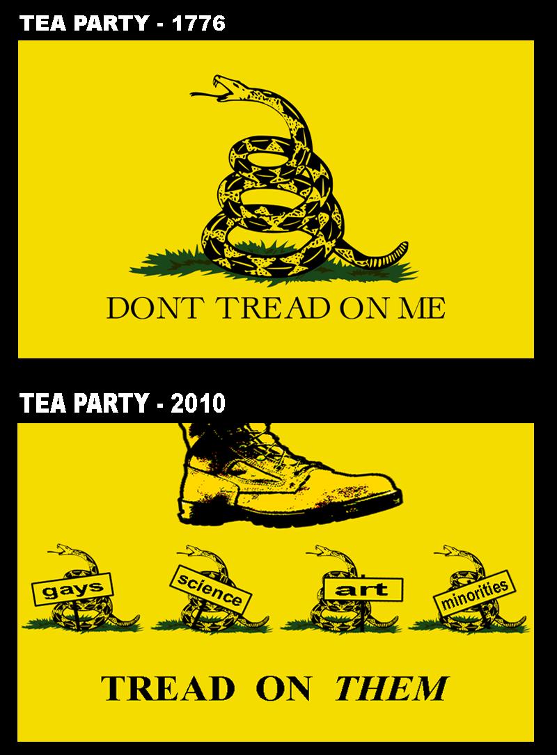 tea party | Gadsden Flag / Don't Tread On Me | Know Your Meme