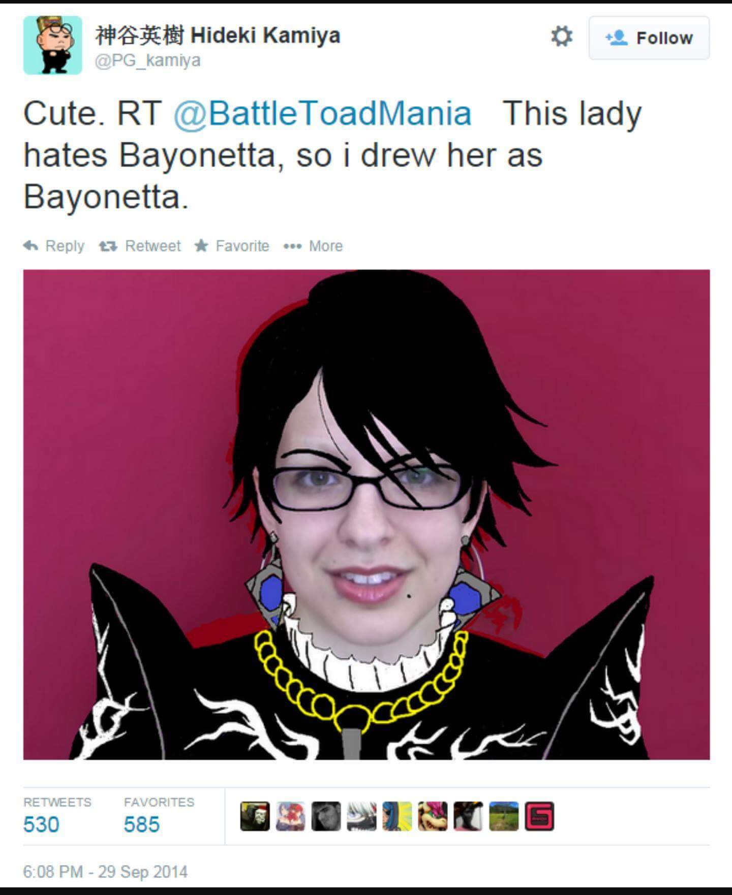 662 cute bayonetta know your meme
