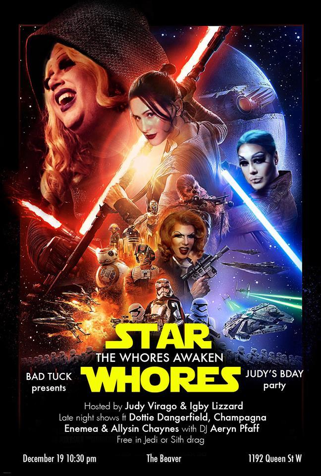 Star whores parody