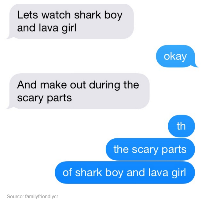 c90 the scary parts of shark boy and lava girl tumblr know your meme