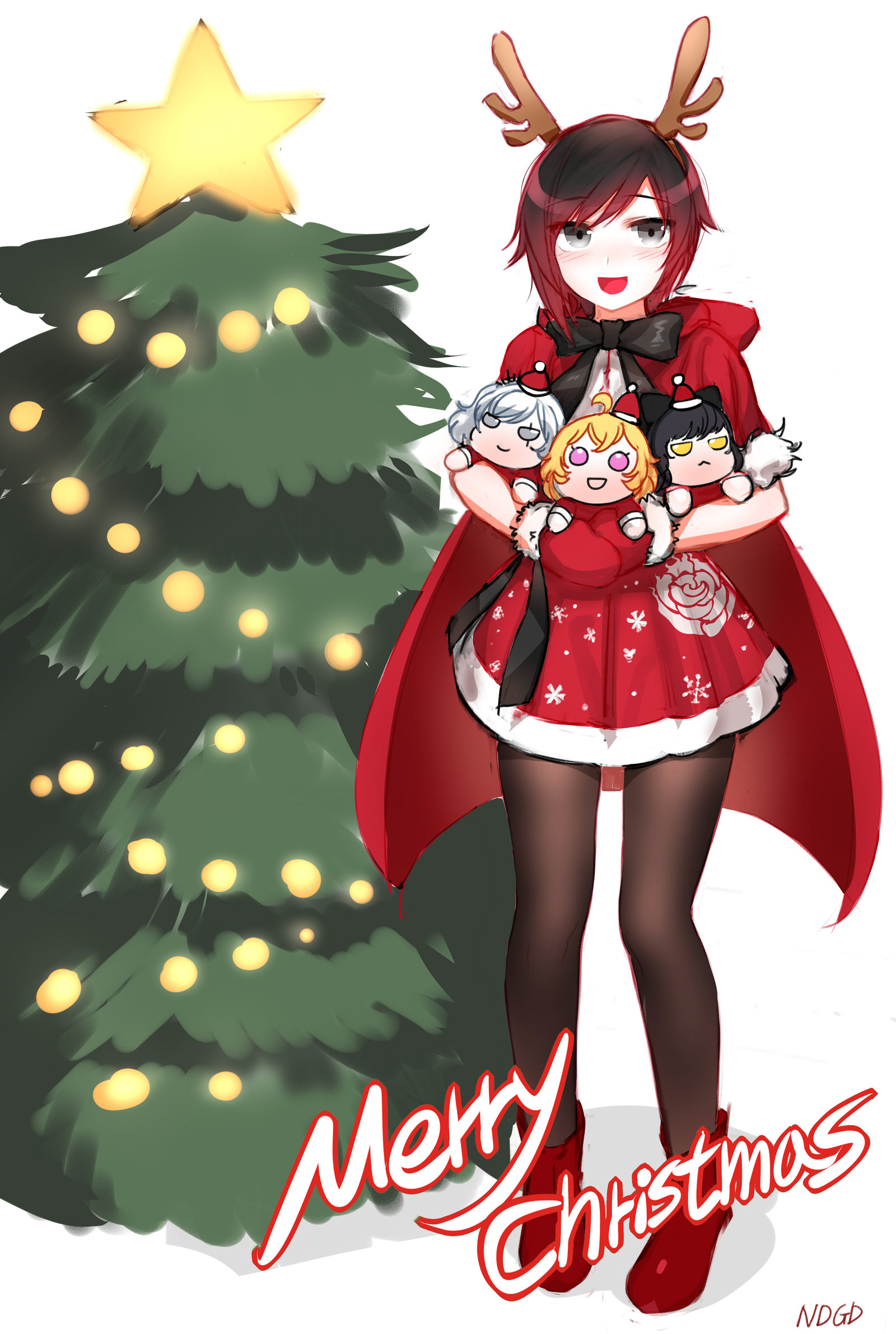 merry christmas rwby know your meme