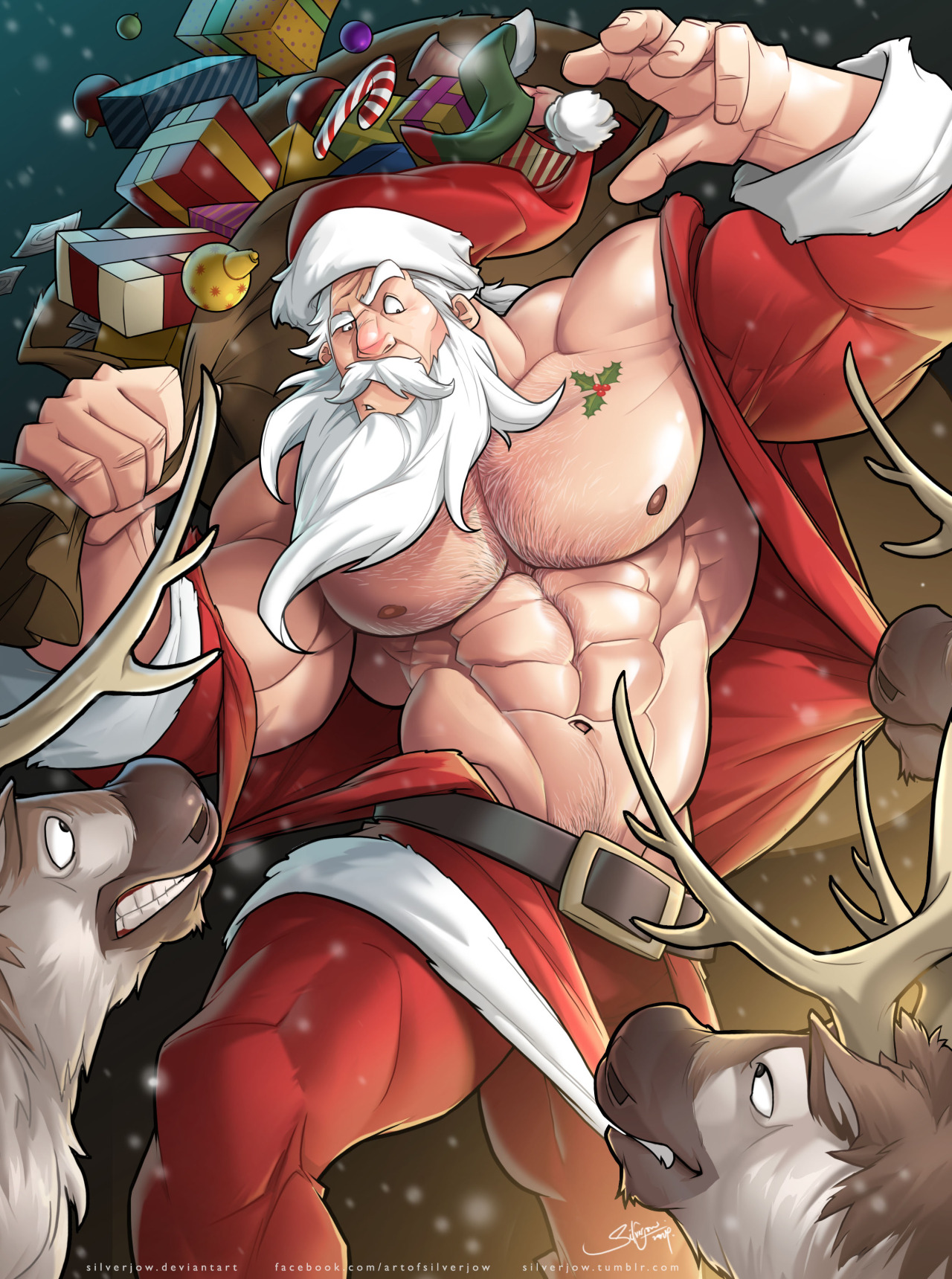 Arthur christmas gay bara